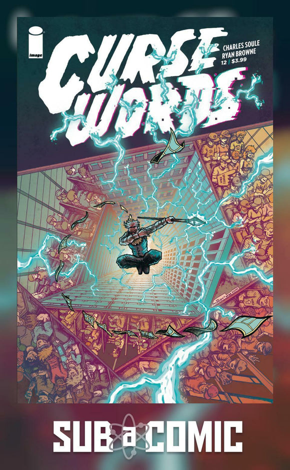CURSE WORDS #12 COVER B MOODY (IMAGE 2018 1st Print)