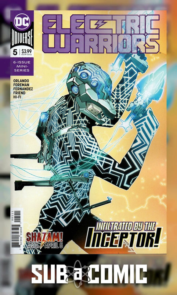 ELECTRIC WARRIORS #5 (DC 2019 1st Print)