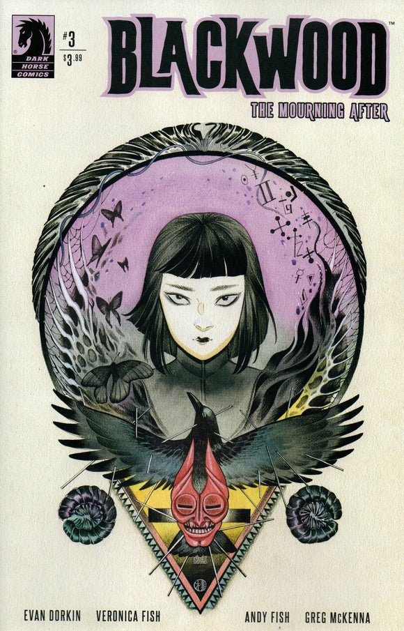 BLACKWOOD MOURNING AFTER #3 COVER B MOMOKO (DARK HORSE 2020 1st Print)