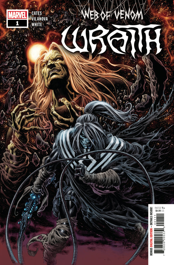 WEB OF VENOM WRAITH #1 (MARVEL 2020 1st Print)