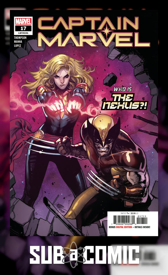 CAPTAIN MARVEL #17 (MARVEL 2021 1st Print)