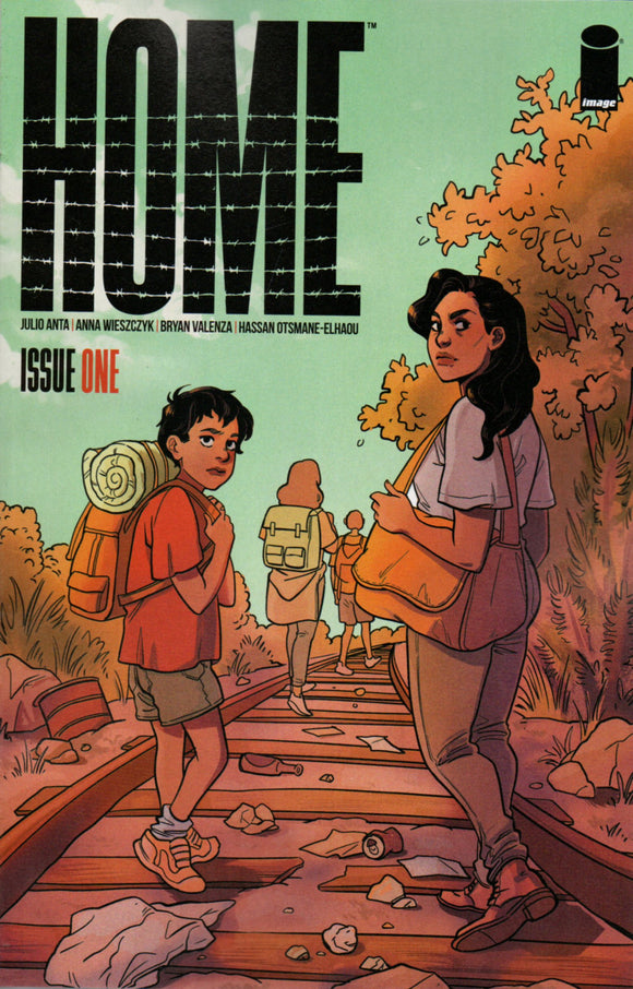 HOME #1 COVER A STERLE (IMAGE 2021 1st Print)