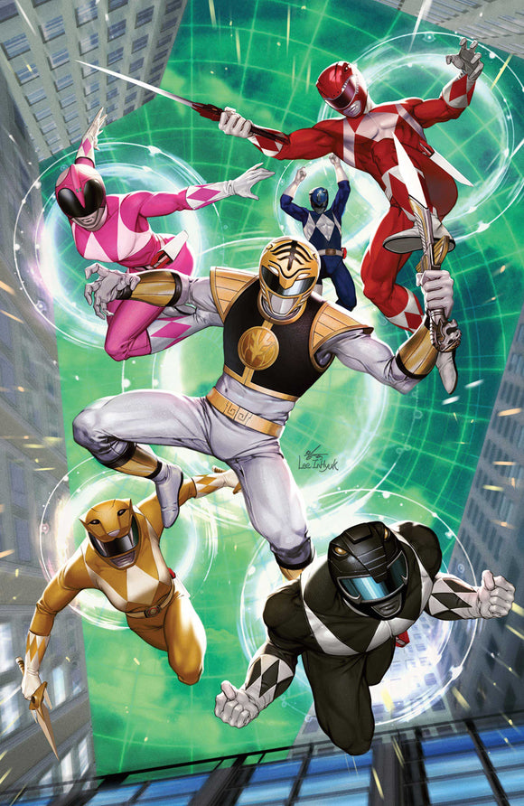 MIGHTY MORPHIN #6 COVER D 1:10 LEE VARIANT (BOOM! STUDIOS 2021 1st Print)