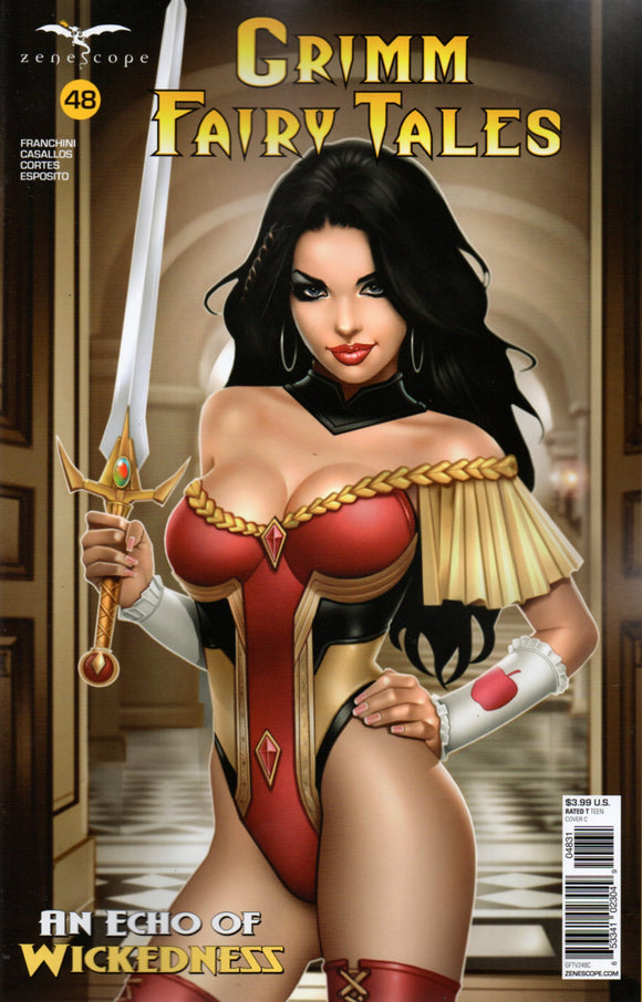 GRIMM FAIRY TALES #48 COVER C KEITH GARVEY (ZENESCOPE 2021 1st Print)