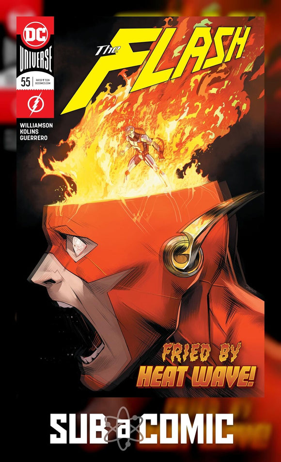 FLASH #55 (DC 2018 1st Print) COMIC