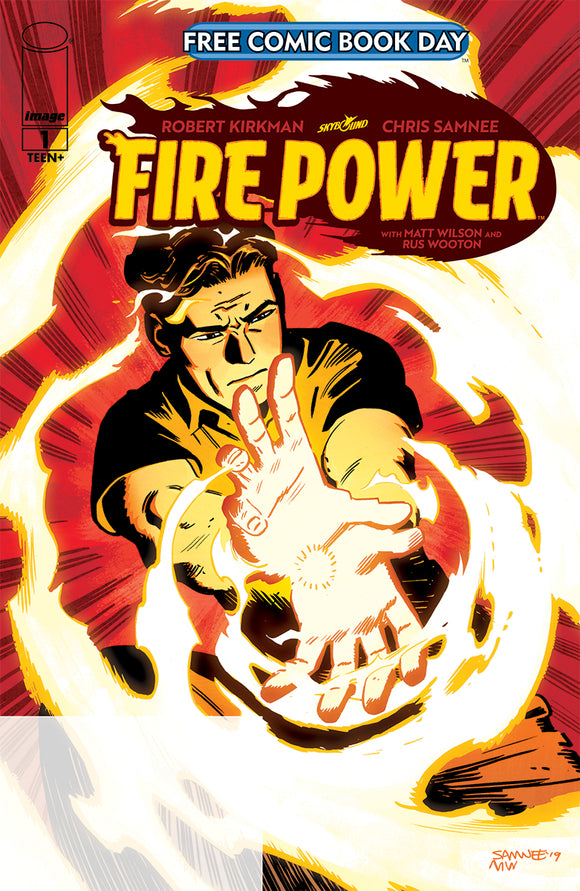 FIRE POWER #1 PROMO ED FORMERLY FCBD (IMAGE 2020 1st Print)