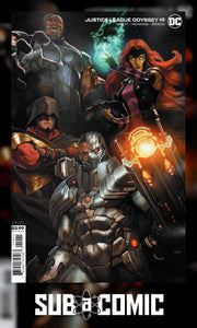 JUSTICE LEAGUE ODYSSEY #19 SKAN VARIANT (DC 2020 1st Print)