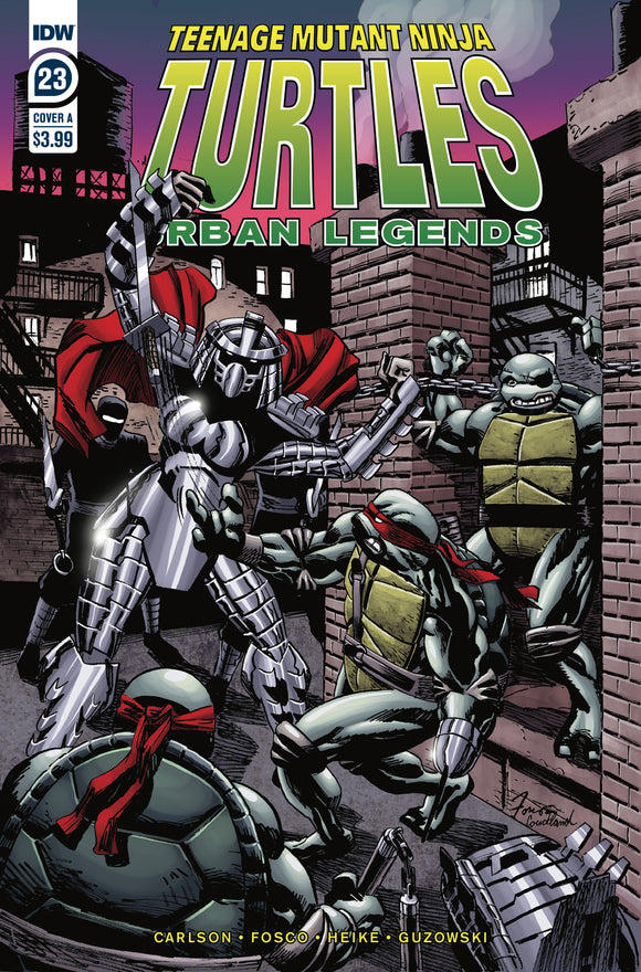 TMNT URBAN LEGENDS #23 COVER A (IDW 2020 1st Print)