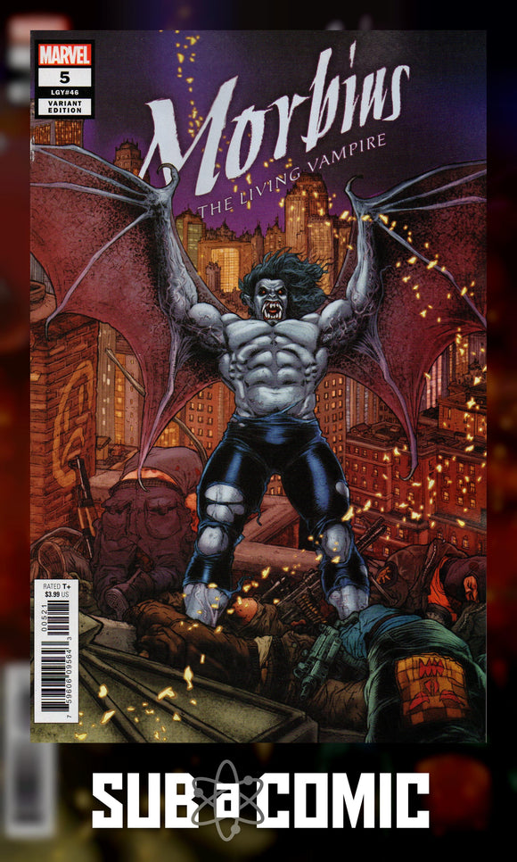 MORBIUS #5 RYP CONNECTING VARIANT (MARVEL 2020 1st Print)