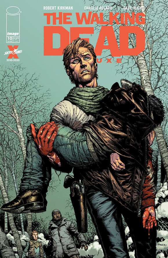 WALKING DEAD DLX #10 COVER A (IMAGE 2021 1st Print)