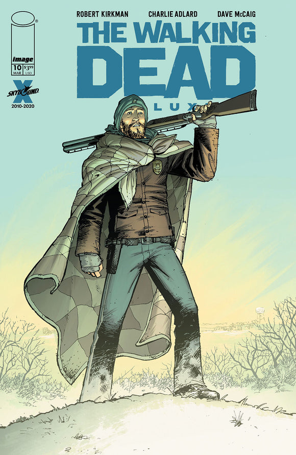 WALKING DEAD DLX #10 COVER B (IMAGE 2021 1st Print)