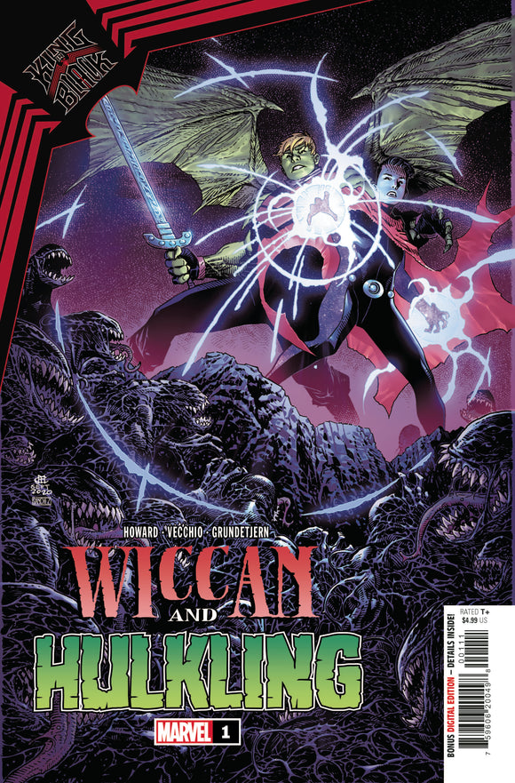 KING IN BLACK WICCAN HULKLING #1 (MARVEL 2021 1st Print)