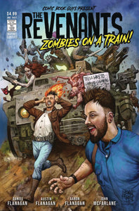 REVENANTS ZOMBIES ON A TRAIN FABRY COVER (COMIC BOOK GUYS 2021 1st Print)