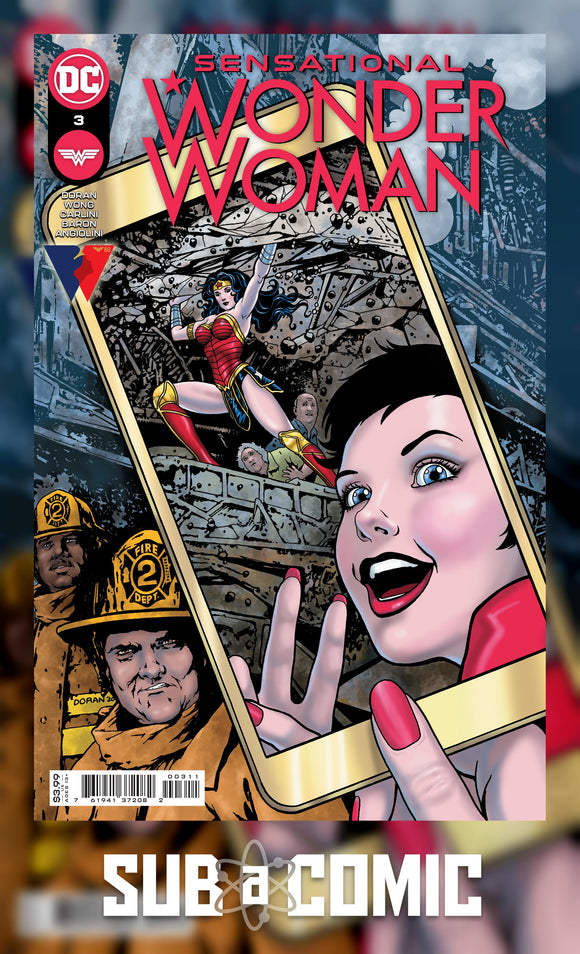 SENSATIONAL WONDER WOMAN #3 COVER A DORAN (DC COMICS 2021 1st Print)