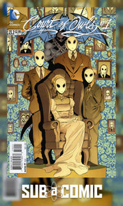 BATMAN AND ROBIN #23.2 COURT OF OWLS STANDARD ED (DC 2013 1st Print)