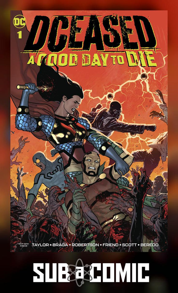 DCEASED A GOOD DAY TO DIE #1 (DC 2019 1st Print)