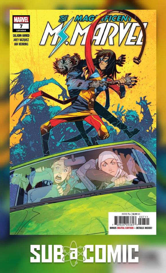 MAGNIFICENT MS MARVEL #7 (MARVEL 2019 1st Print)