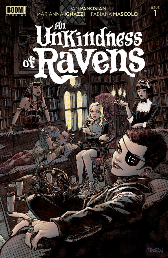 UNKINDNESS OF RAVENS #1 COVER A (BOOM! STUDIOS 2020 1st Print)