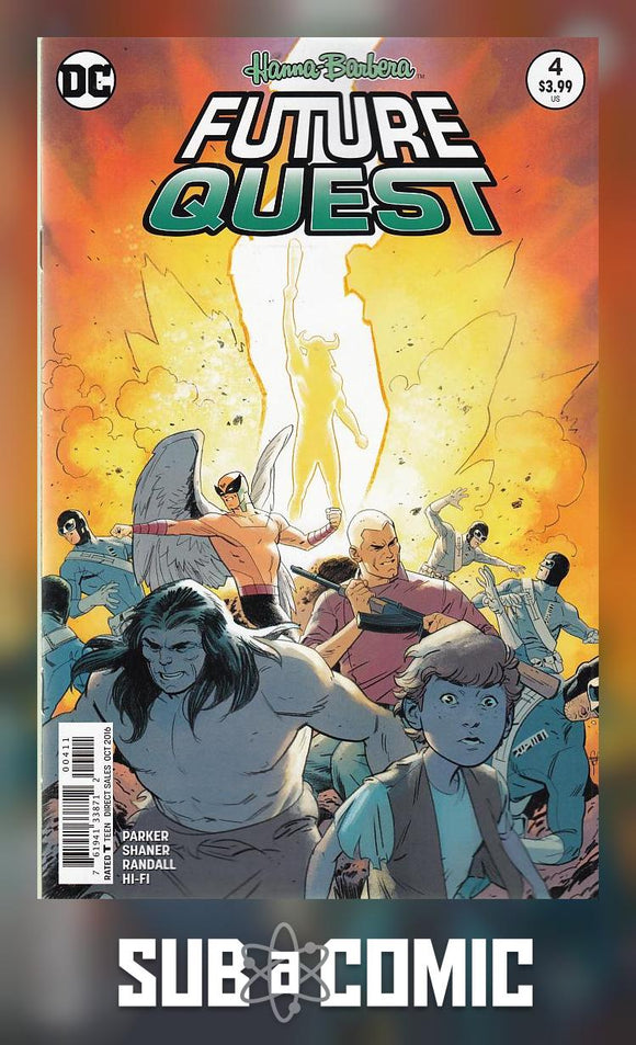 FUTURE QUEST #4 (DC 2016 1st Print) COMIC