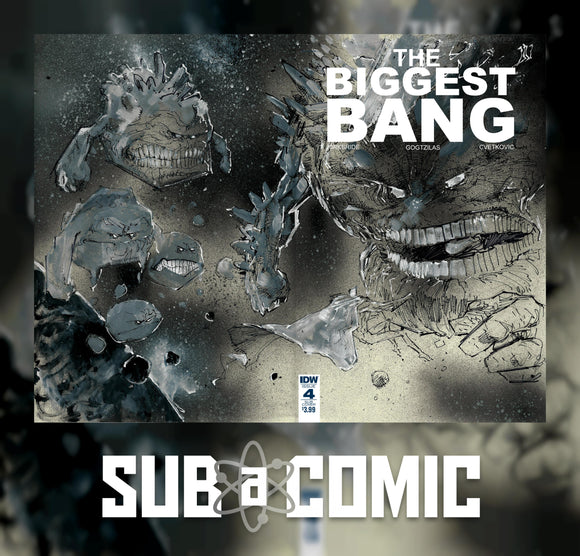 BIGGEST BANG #4 SUBSCRIPTION VARIANT (IDW 2016 1st Print) COMIC