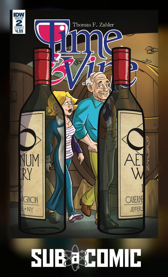 TIME & VINE #2 COVER A (IDW 2017 1st Print)