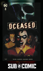 DCEASED #4 CARD STOCK HORROR VARIANT (DC 2019 1st Print)