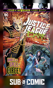 JUSTICE LEAGUE DARK #14 YOTV DARK GIFTS (DC 2019 1st Print)
