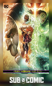 JUSTICE LEAGUE ODYSSEY #12 CARD STOCK VARIANT DARK GIFTS (DC 2019)