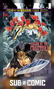 WONDER WOMAN #76 DARK GIFTS (DC 2019 1st Print)