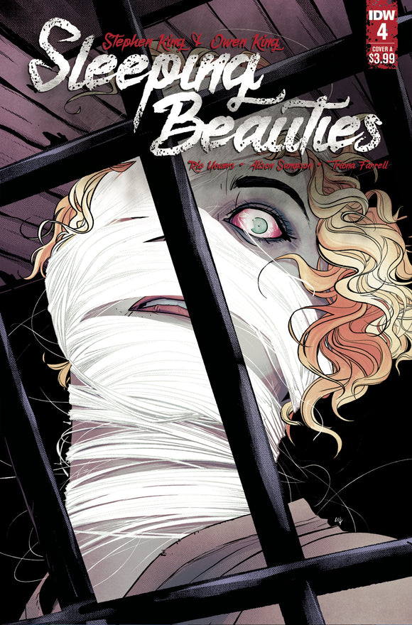 SLEEPING BEAUTIES #4 COVER A (IDW 2020 1st Print)