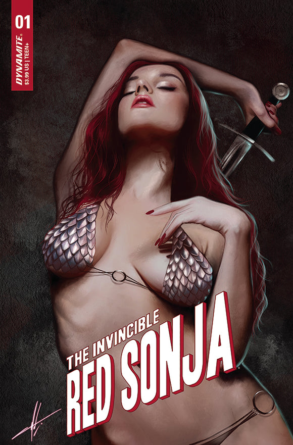 INVINCIBLE RED SONJA #1 1:10 COHEN TRADE DRESS VARIANT (DYNAMITE 2021 1st Print)