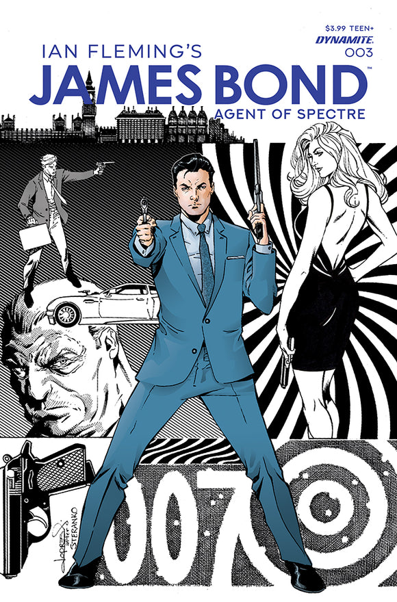 JAMES BOND AGENT OF SPECTRE #3 (DYNAMITE 2021 1st Print)