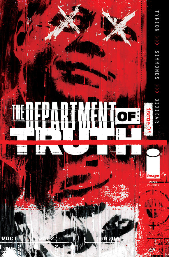 DEPARTMENT OF TRUTH #1 (IMAGE 2021 5th Print)