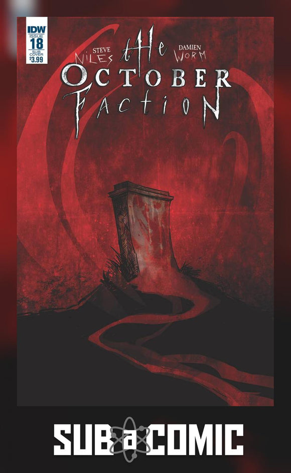 OCTOBER FACTION #18 SUBSCRIPTION VARIANT (IDW 2016 1st Print) COMIC