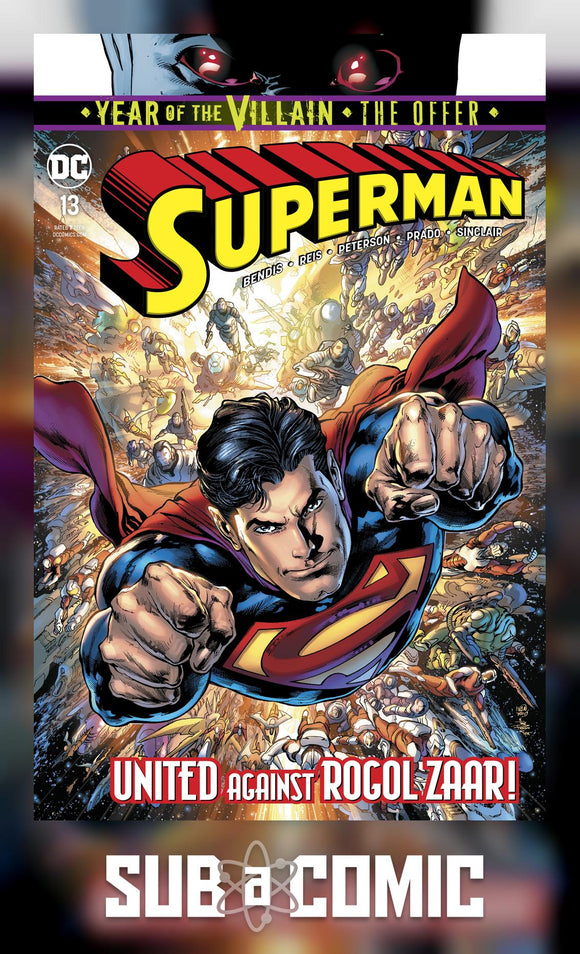 SUPERMAN #13 YOTV THE OFFER (DC 2019 1st Print)