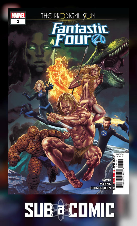 FANTASTIC FOUR PRODIGAL SUN #1 (MARVEL 2019 1st Print)
