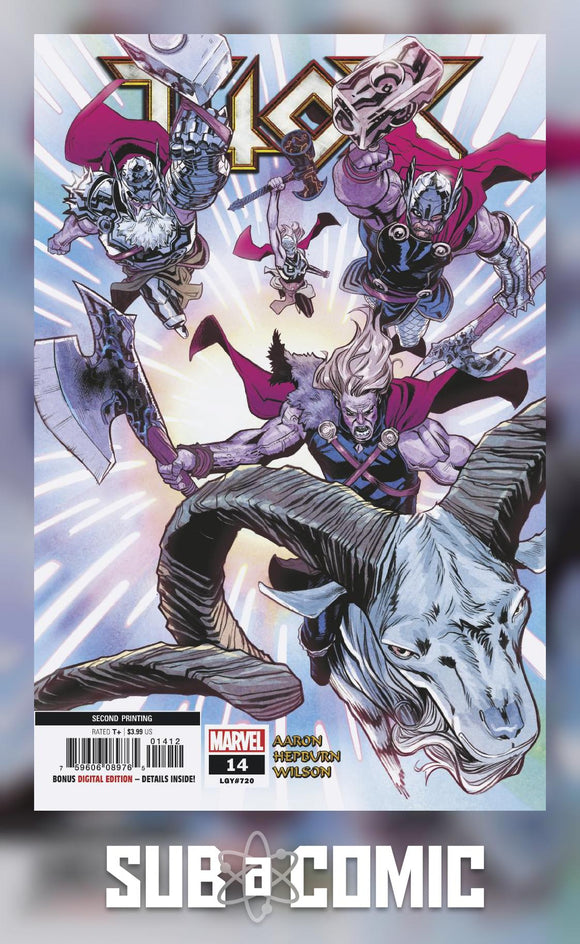 THOR #14 (MARVEL 2019 2nd Print)