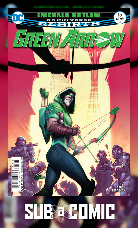 GREEN ARROW #15 (DC 2017 1ST PRINT) COMIC