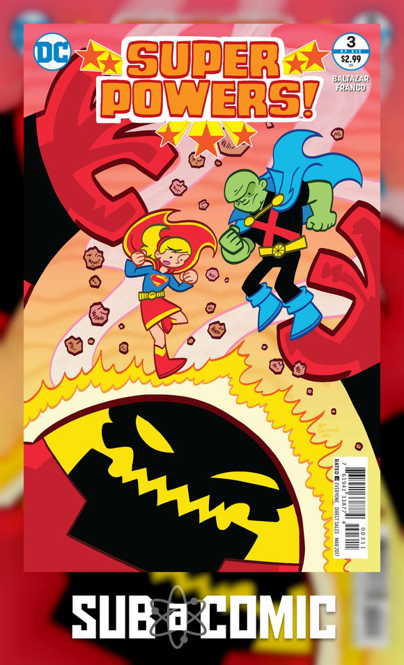 SUPER POWERS #3 (DC 2017 1ST PRINT) COMIC