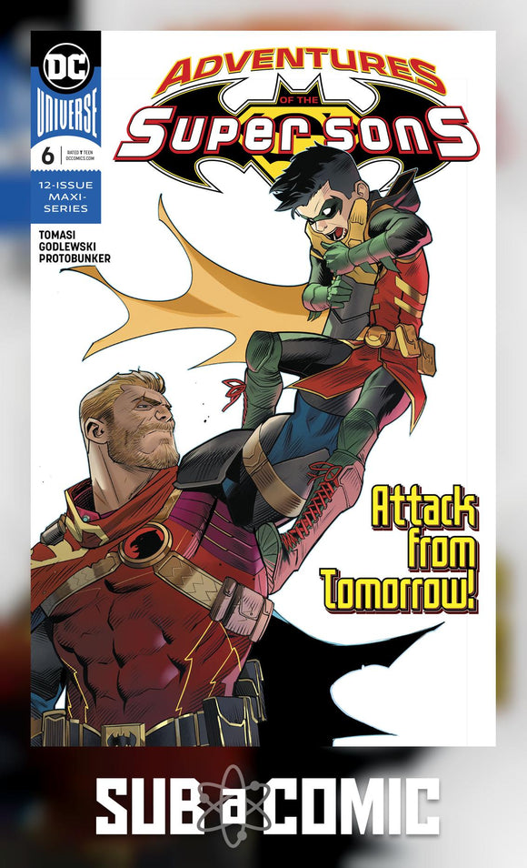 ADVENTURES OF THE SUPER SONS #6 (DC 2019 1st Print)