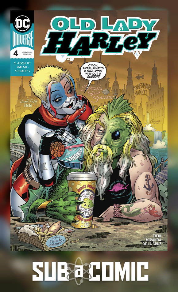 OLD LADY HARLEY #4 (DC 2019 1st Print)