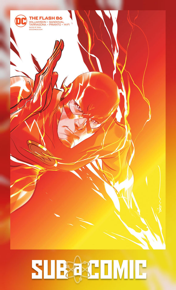 FLASH #86 CARD STOCK VARIANT (DC 2020 1st Print)