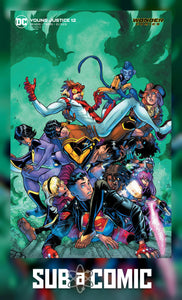 YOUNG JUSTICE #12 CARD STOCK VARIANT (DC 2020 1st Print)