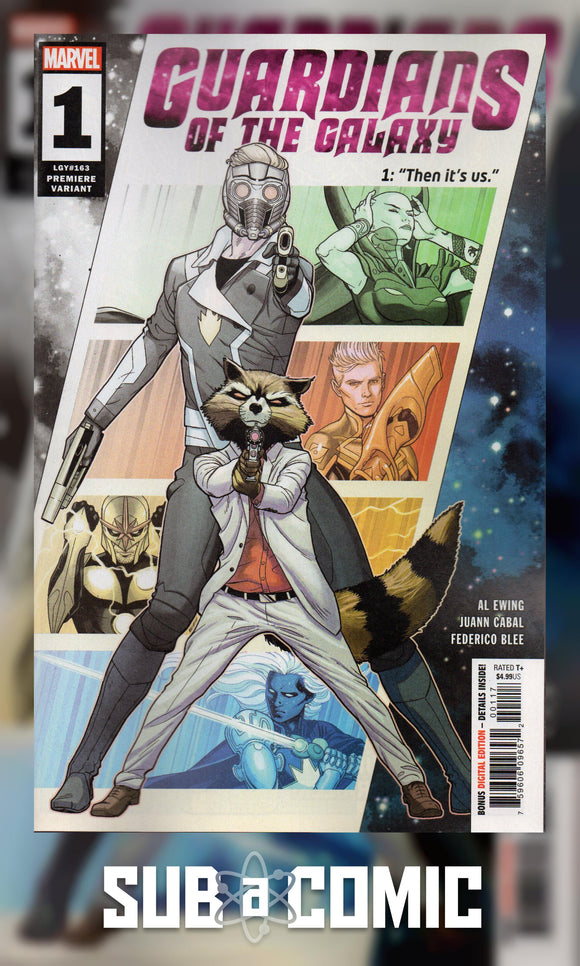 GUARDIANS OF THE GALAXY #1 CABAL PREMIERE VARIANT (MARVEL 2020 1st Print)