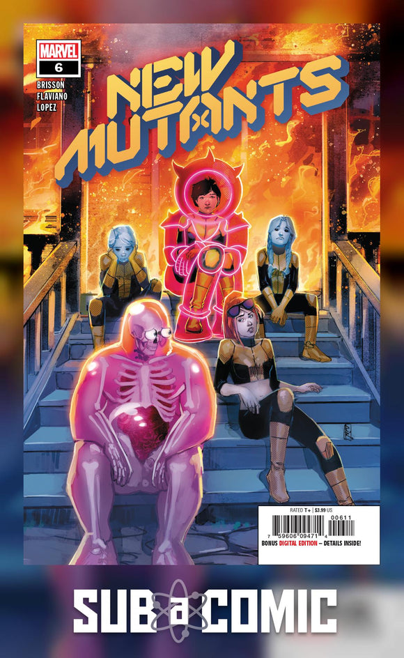 NEW MUTANTS #6 DX (MARVEL 2020 1st Print)