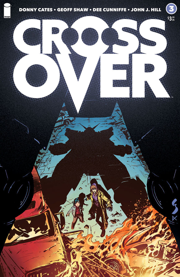 CROSSOVER #3 COVER A (IMAGE 2021 1st Print)
