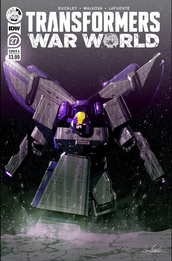 TRANSFORMERS #27 COVER A (IDW 2021 1st Print)