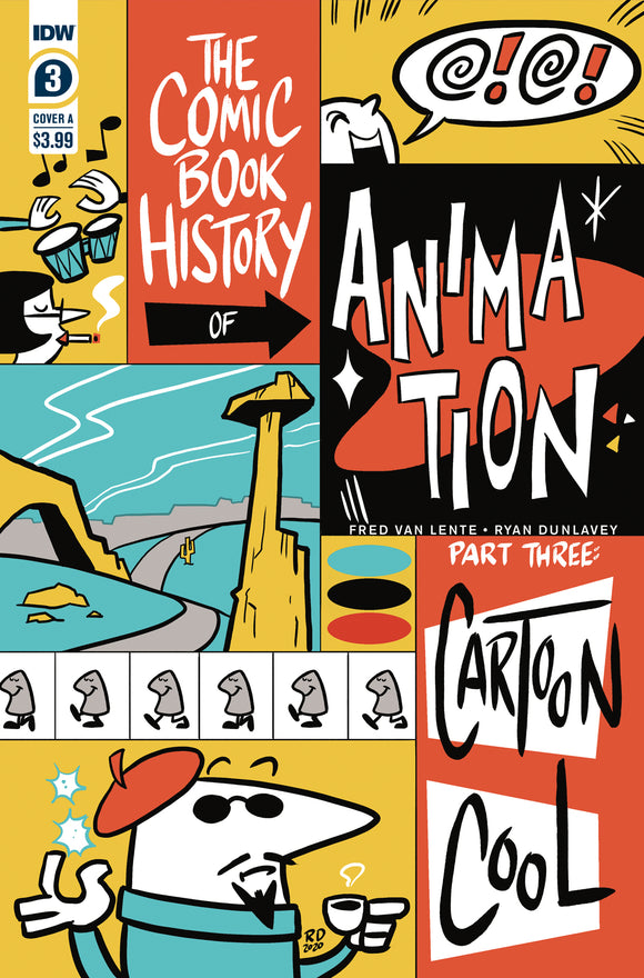 COMIC BOOK HISTORY OF ANIMATION #3 COVER A (IDW 2021 1st Print)