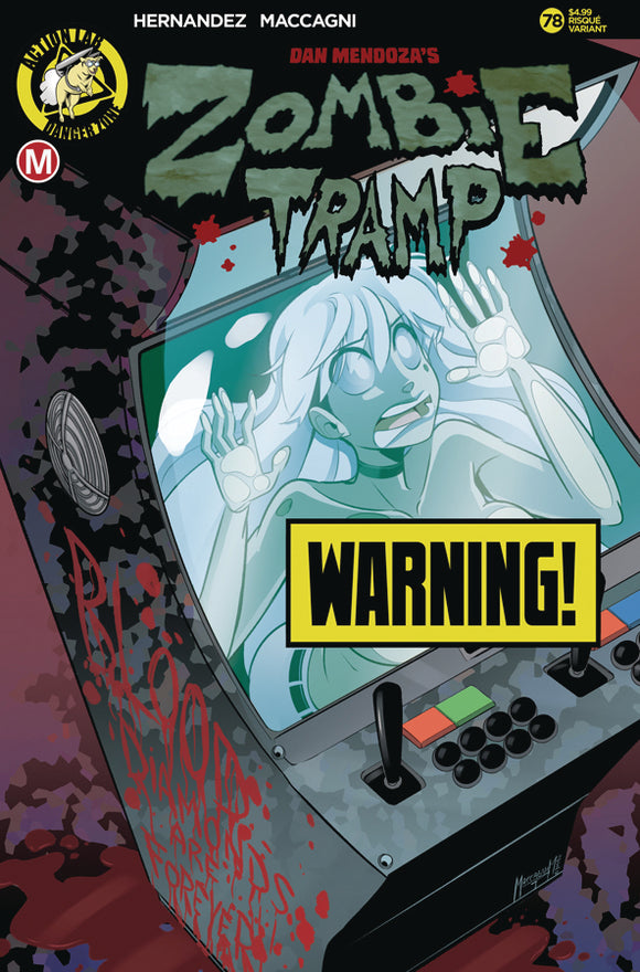 ZOMBIE TRAMP ONGOING #78 COVER B (ACTION LAB 2021 1st Print)