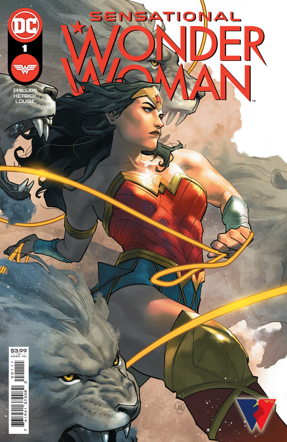 SENSATIONAL WONDER WOMAN #1 COVER A (DC 2021 1st Print)